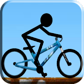 Stickman Ride Bike