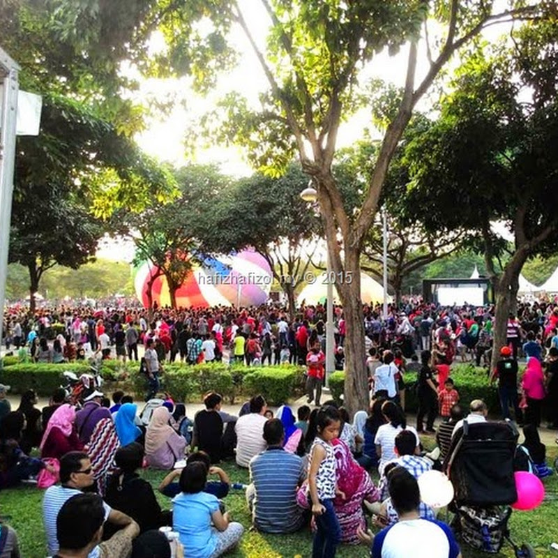 Pesta Belon Udara Panas Antarabangsa 2015, Putrajaya