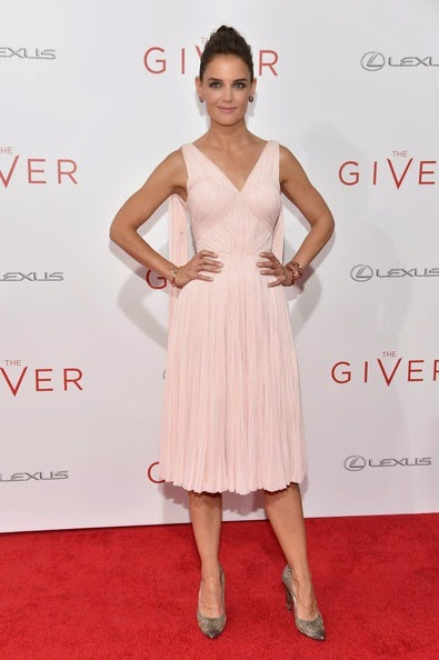 Katie Holmes Giver Premieres NYC