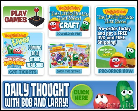 VeggieTales Website