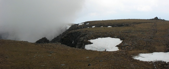 CLOUDS ABOUT TO OBLITERATE THE VIEWS, CAC CARN MOR