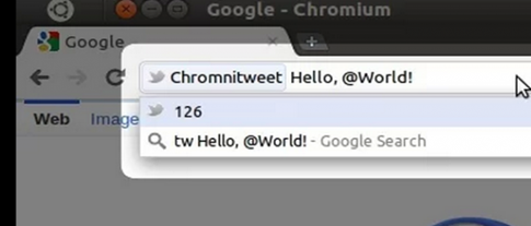 Chromnitweet para Google Chrome