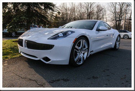 Fisker at Coffee and Cars