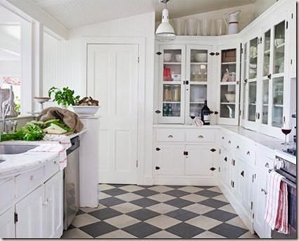 checkered floors wishful thinking. Black Bedroom Furniture Sets. Home Design Ideas