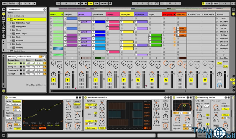 Ableton Live Suite v9.7.5 Full İndir