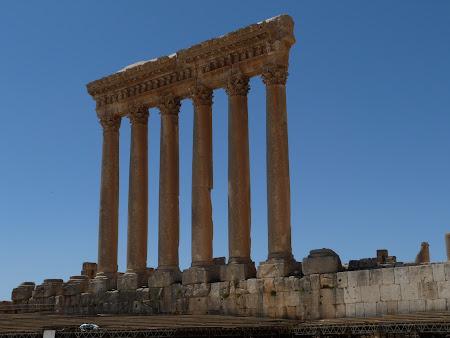 Imagini Liban: templul lui Jupiter Baalbek
