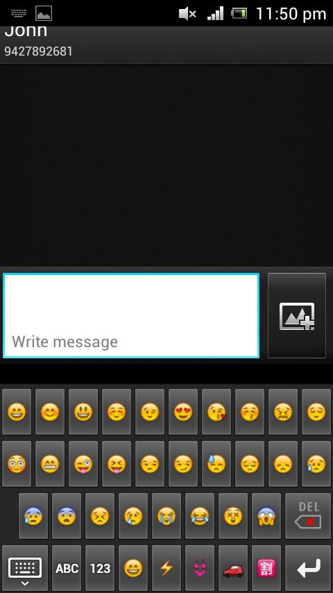 Emoji Android to iphone - screenshot