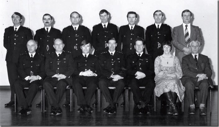 Newly Promoted Inspectors Course. 1979<br />