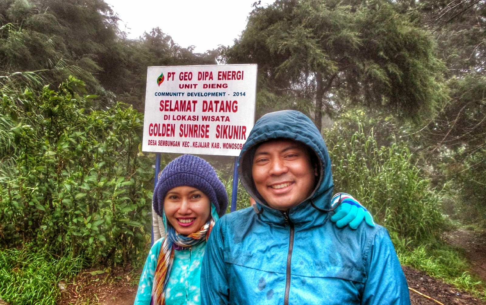 Dieng Trip Sedih Gagal Sunrise Di Bukit Sikunir The Traveling Cow