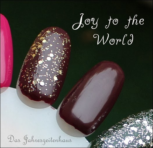 Essence Happy Holidays Nagellack Duo 01 Joy to the World Swatches