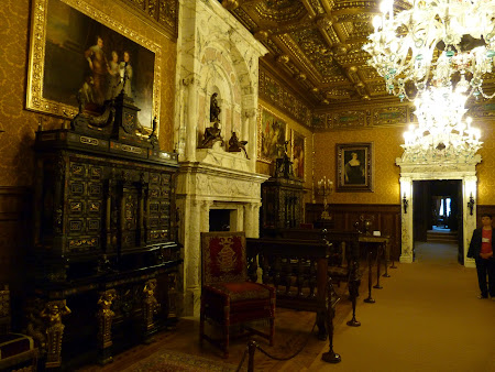 Imagini Castel Peles Sinaia: sala florentina