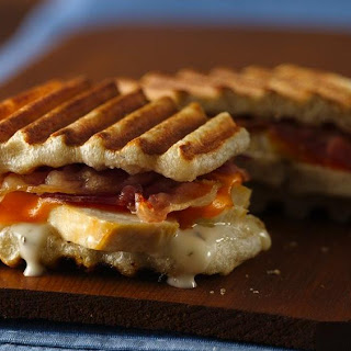 Ranch Chicken and Bacon Panini.