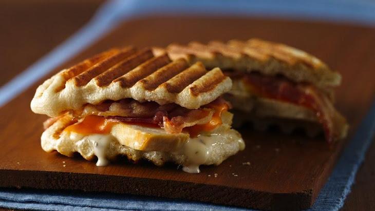 Ranch Chicken and Bacon Panini Recipe