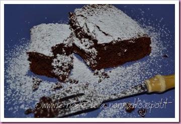 Torta al cioccolato della Pamela (7)