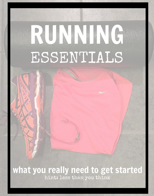 Running essentials - you need less than you think to get started. Find out and get running!