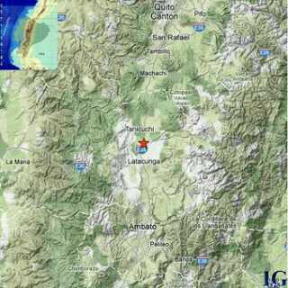 sismo en Latacunga