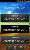 Screenshot of What's Today Calendar Widget