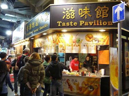Mancare locala Hong Kong