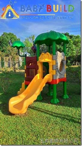 BabyBuild 童話城堡兒童遊具完工照