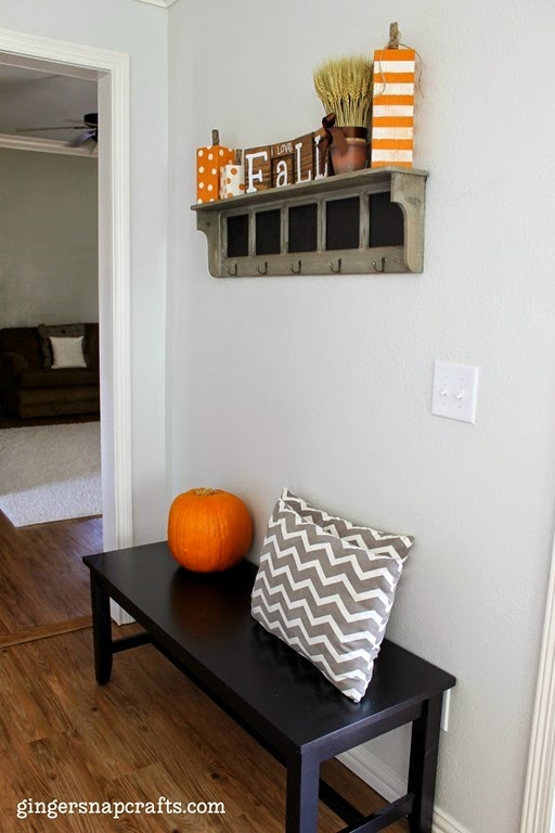 fall decor for your home #bloghop