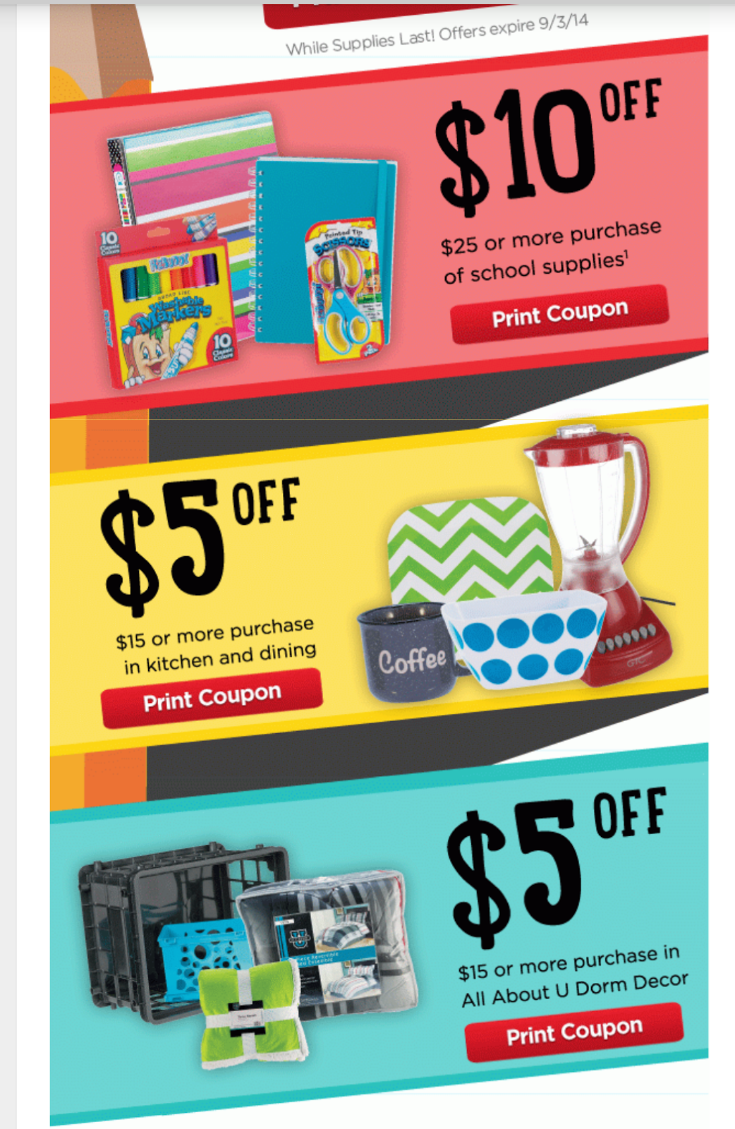 photo relating to School Supplies Coupons Printable named Melissas Coupon Discounts: HEB $20 relevance of printable