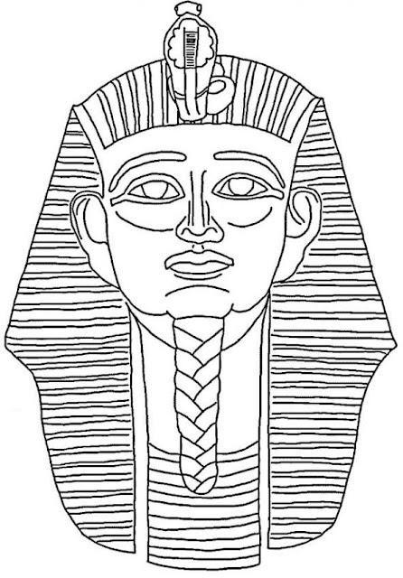 Egyptische Mandala Kleurplaat Dibujo Del Fara 243 N