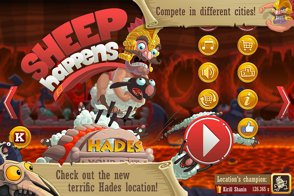Sheep Happens - screenshot