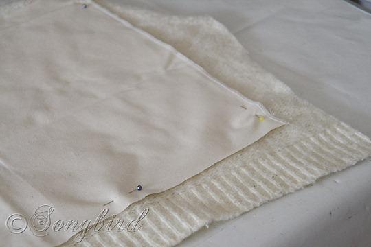 Fall DIY Sweater Pillows 6