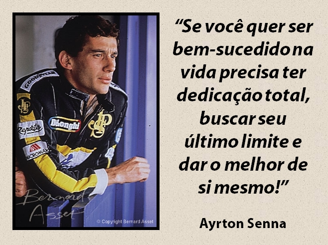 Ayrton Senna Pensador 5 Quotes Links