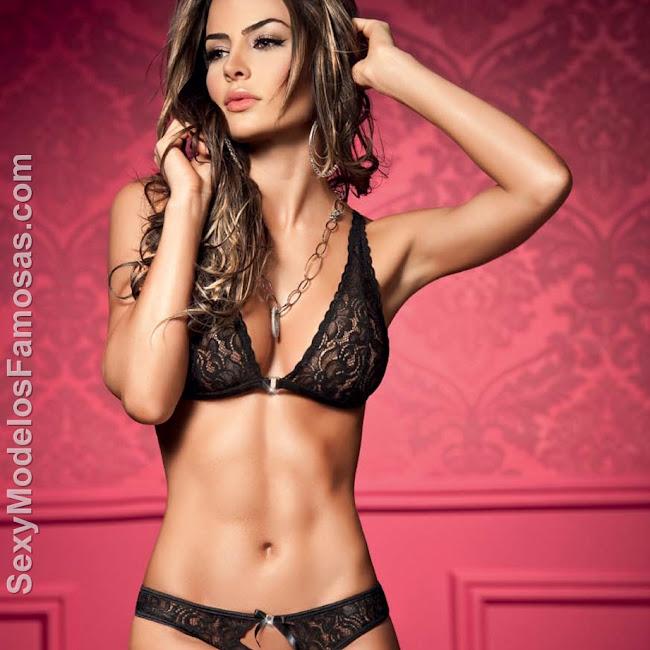 Natalia Velez Sexy Lenceria Besame Foto 10