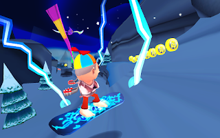 Screenshot of Skiing Fred