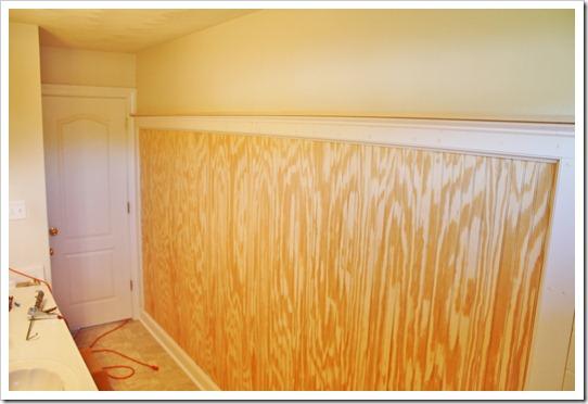 long beadboard wall