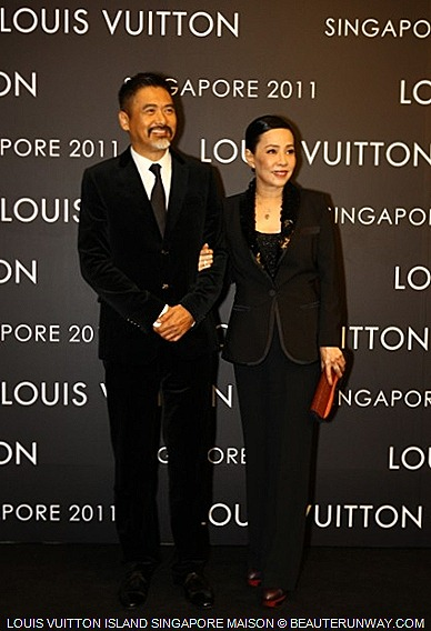 LOUIS VUITTON ISLAND SINGAPORE MAISON  Chow Yun Fat Jasmine Tan