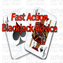 Fast Action Black Jack Advice icon