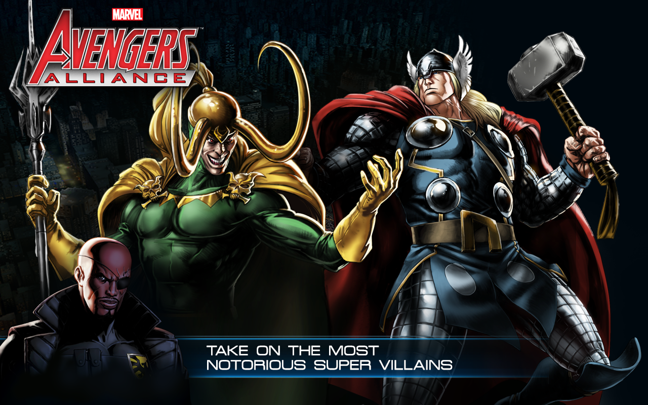 Avengers Alliance - screenshot