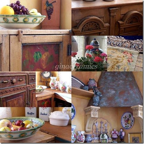 guest kitchen collage