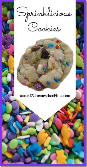 Sprinklicious Cookies for Kids Recipe #recipes