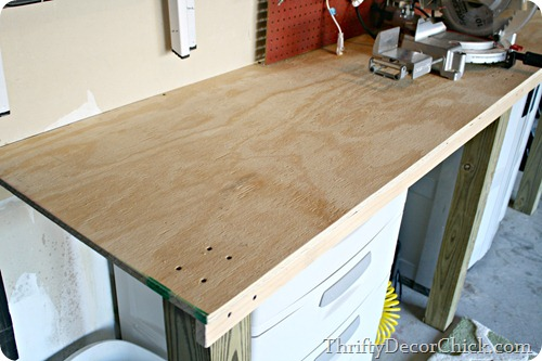 Easy DIY workbench