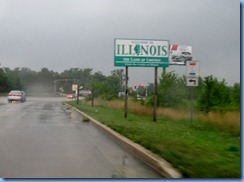 4536 Illinois - Lincoln Highway (US-30) - Illinois Welcome sign