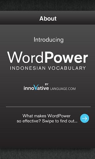 Free Indonesian WordPower