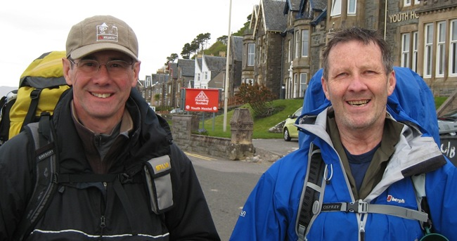 PHIL & ANDY, OBAN YOUTH HOSTEL