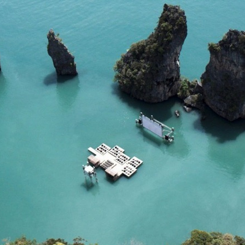 Archipelago Cinema: Thailand's Floating Movie Theater