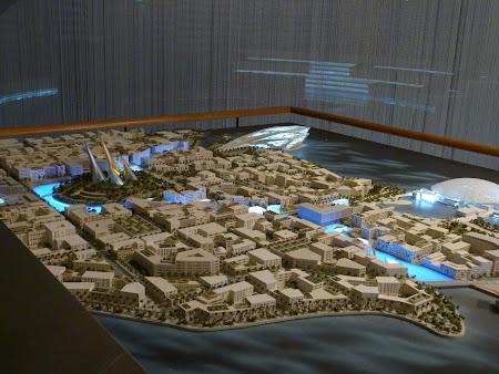 Obiective turistice Abu Dhabi: insula Saadiyat