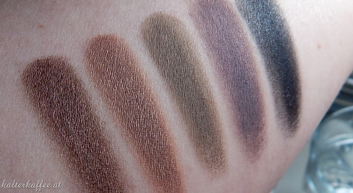 Maybelline Color Tattoo Leather Collection Swatches complete