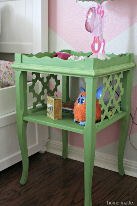 Antibes Green side table