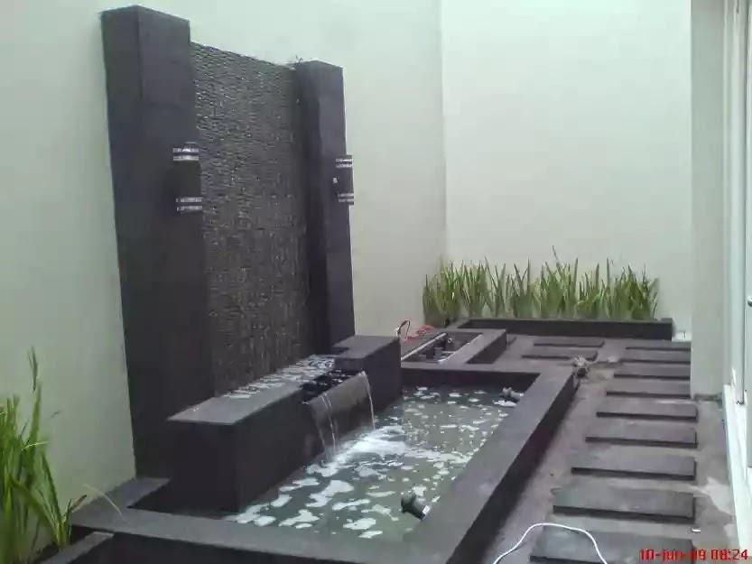Taman Minimalis Malang Jasa Pembuatan Kolam Hias Batu Alam