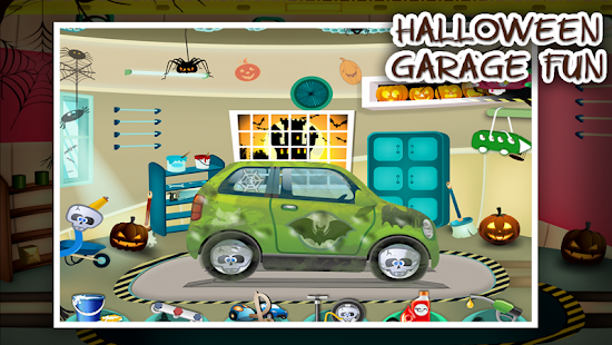 Halloween Car Garage Fun- screenshot thumbnail