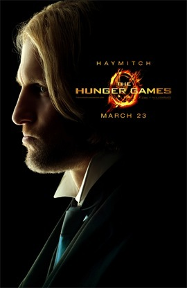 The Hunger Games Woody Harrelson is Haymitch Abernathy