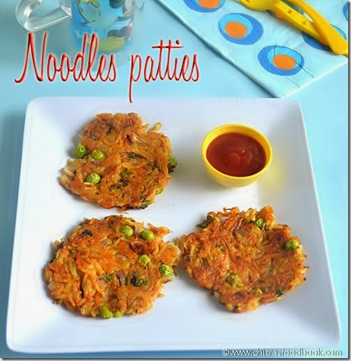 Maggi Noodles patties