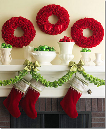 christmas mantel bhg4